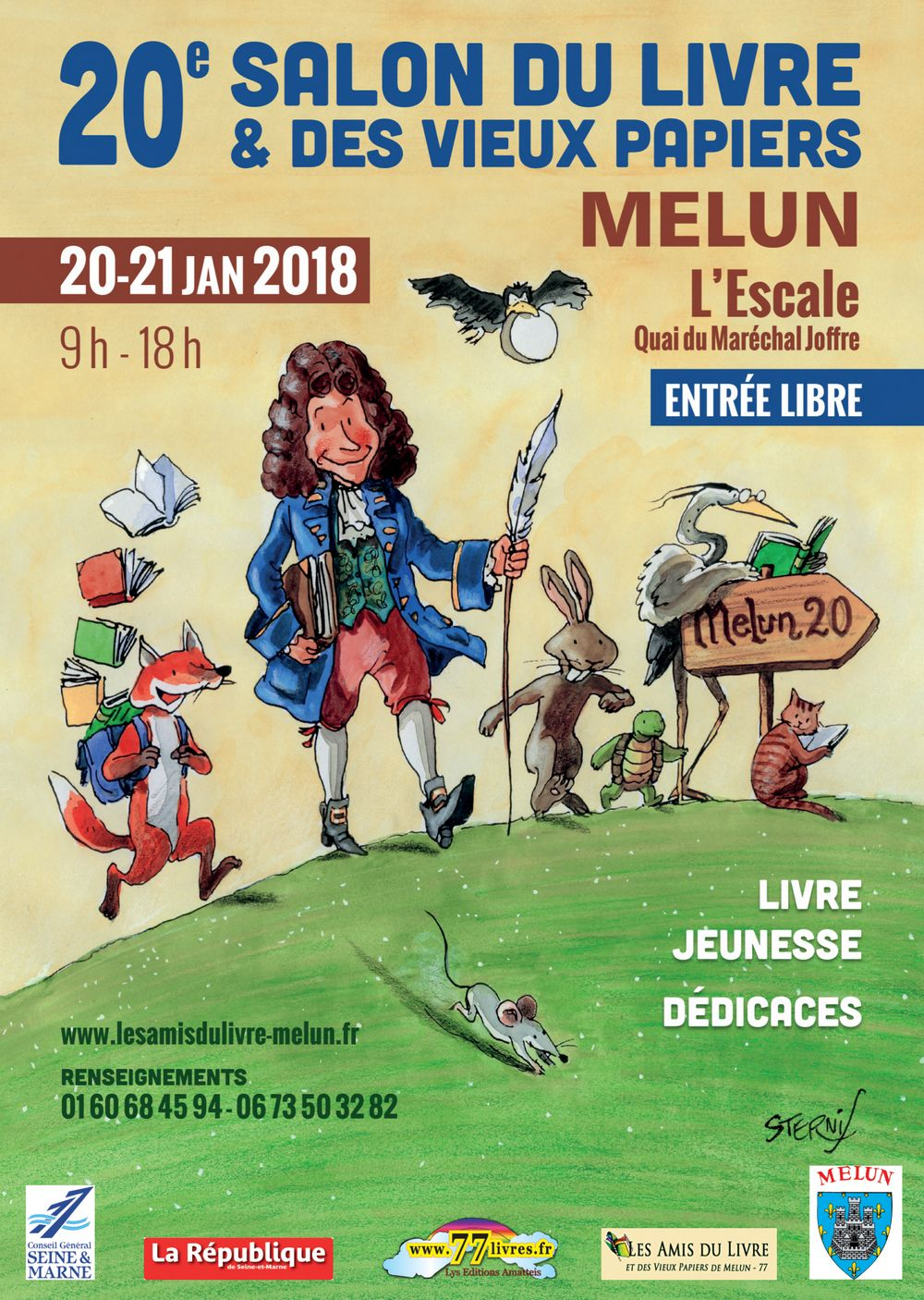 Salon du livre de melun 2018 les amis du livre et vieux - Salon du livre troyes ...